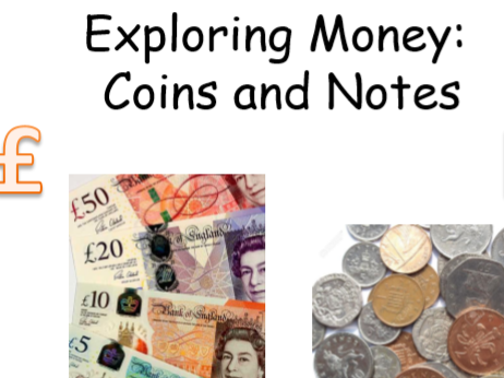 Money Value Activities Pack Reception & KS1 (ages 4-7)