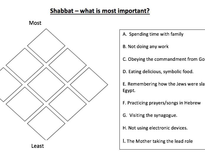 Shabbat (Jewish Festivals)