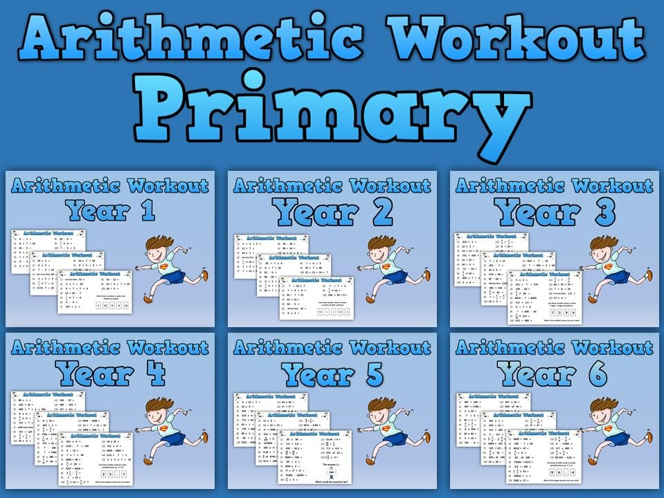 Primary Arithmetic Workouts