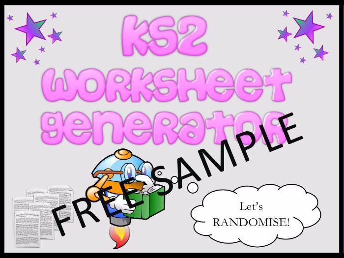 KS2: Maths Worksheets