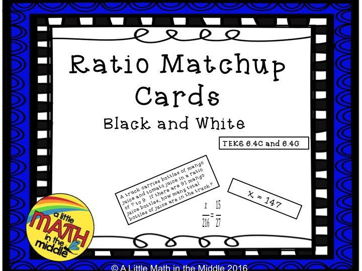 Ratio Matchup