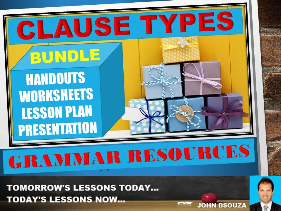 CLAUSE TYPES: BUNDLE