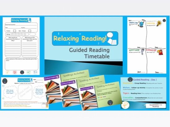 Guided Reading - Activities, Resources, Organisation