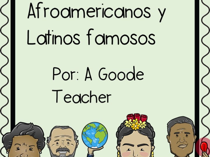 Spanish Reading Comprehension Passages: Famous African Americans and Latinos Vol. 1