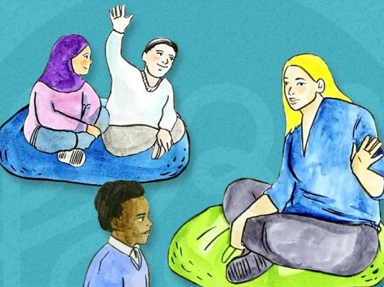 Safe Space primary: U is for Understanding each other