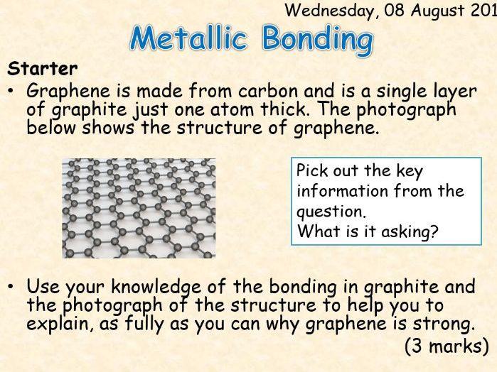 AQA Chemistry Topic 3: Metallic Bonding