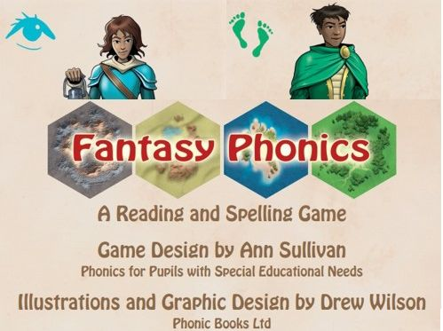 Fantasy Phonics - A Reading and Spelling Game - A collaboration: Phonics for SEN & Phonic Books