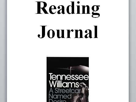 Streetcar - Reading Journal