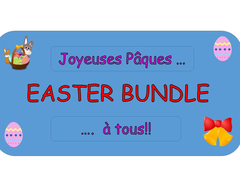 """JOYEUSES PAQUES!"" - French Easter Bundle"