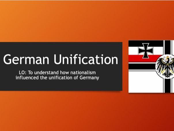 AQA 9-1 Bismarck and Unification (Germany L1)