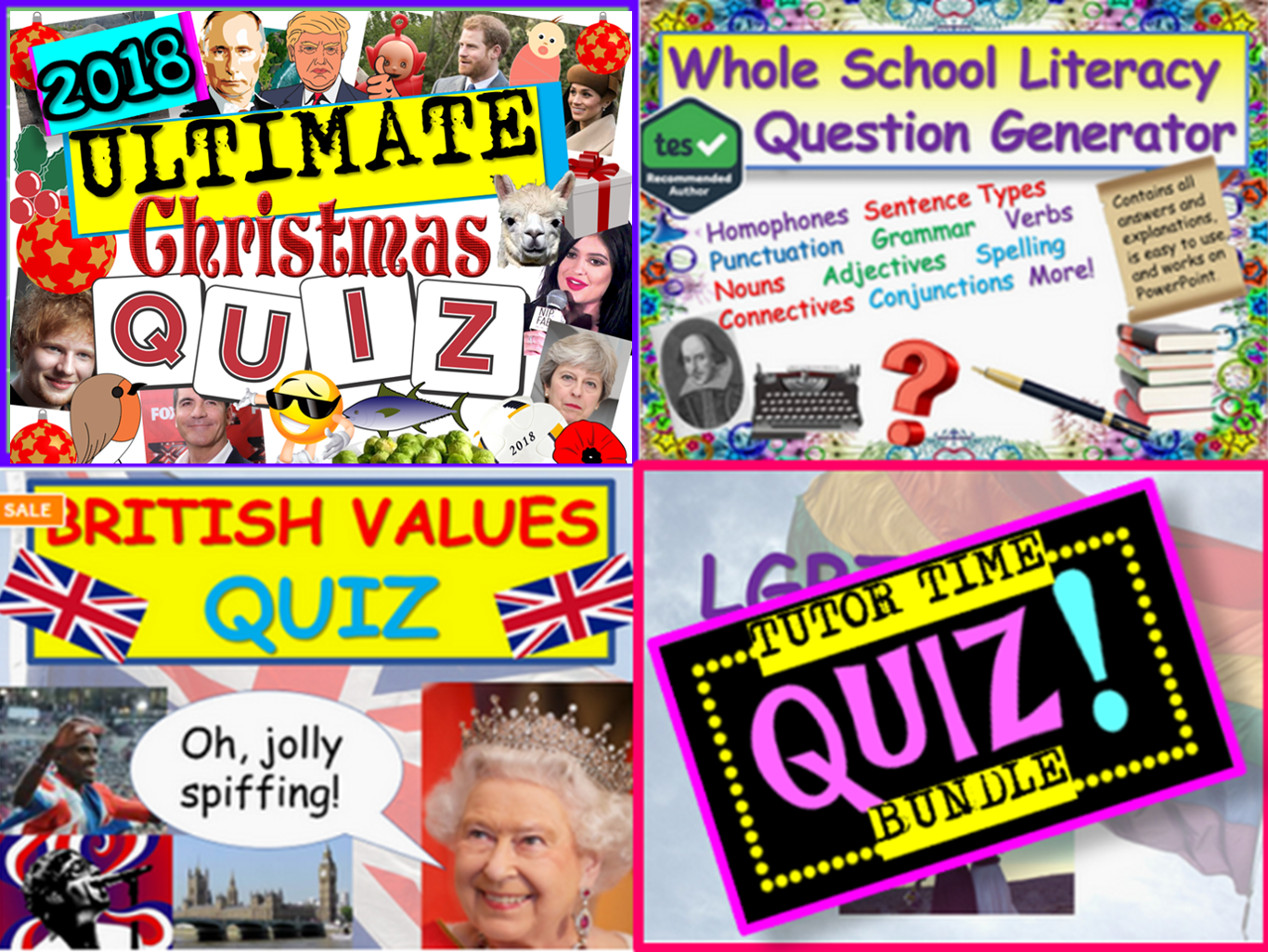 Tutor Time Quizzes