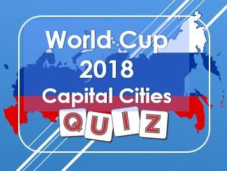 World Cup: Russia 2018: Capital Cities Quiz