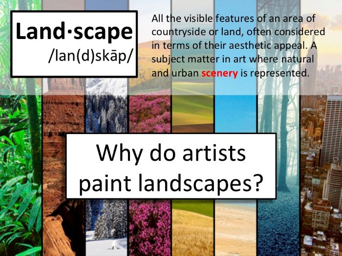 Introduction to Landscape Painting with Activities