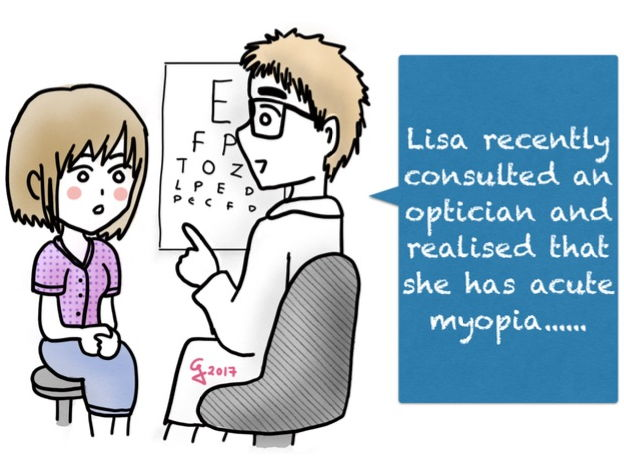 The Eye - Acute Myopia (short-sightedness): Thinking Skills & Group discussion