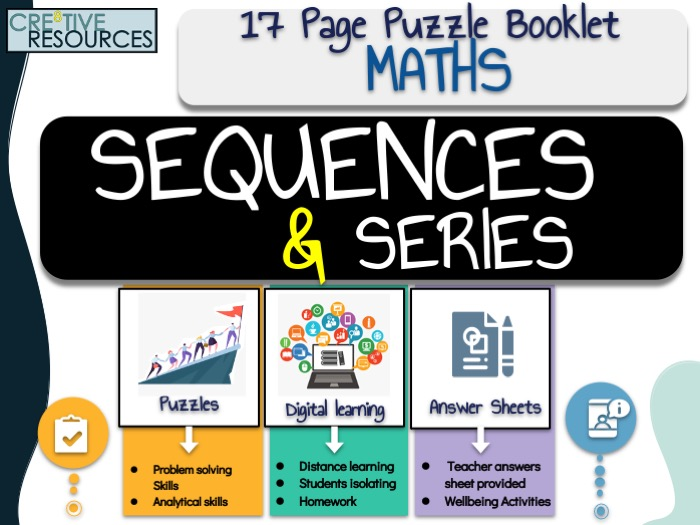 Maths Work Booklet Sequence and Series