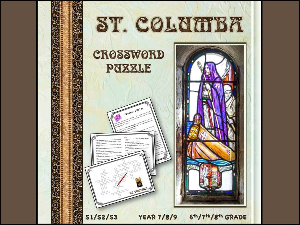 St. Columba crossword