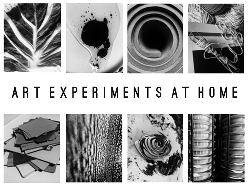 Remote Art Task: Experimenting at Home with Limited Materials