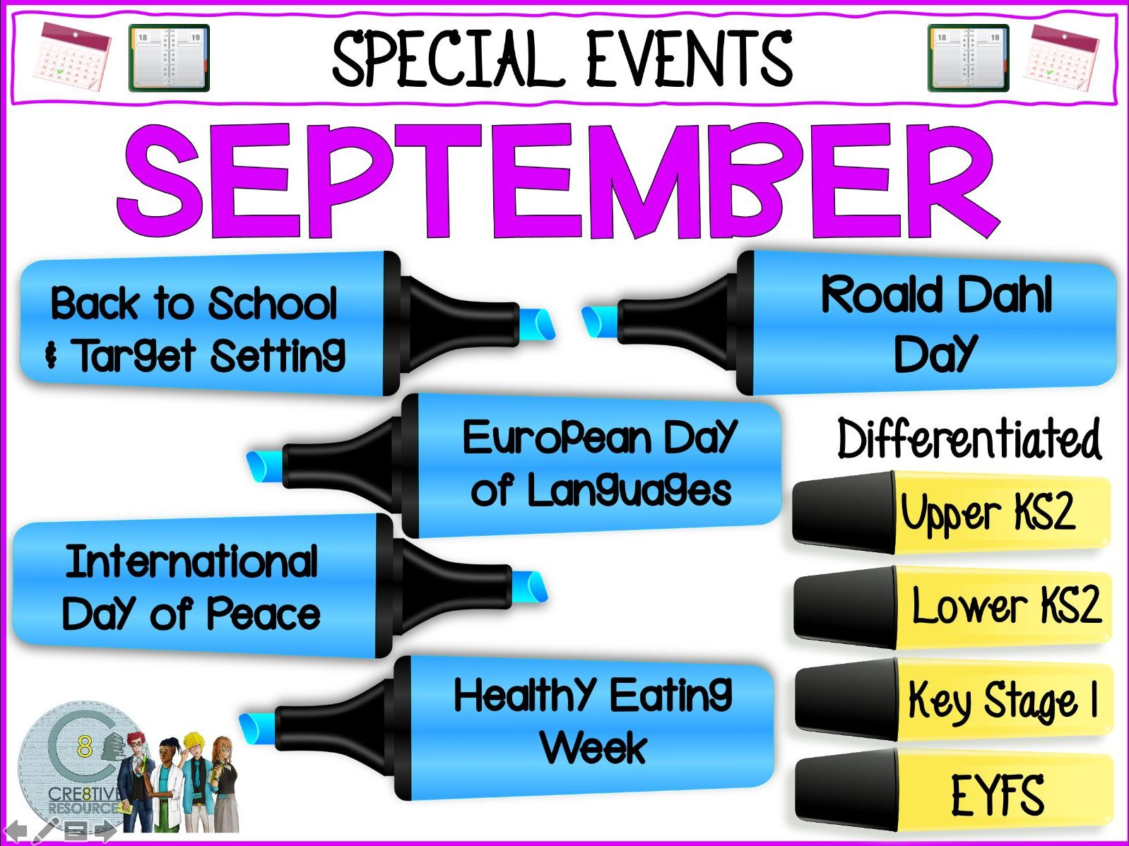 Back To School Special Days - Recovery Curriculum