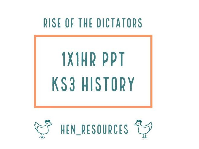 Rise Of The Dictators