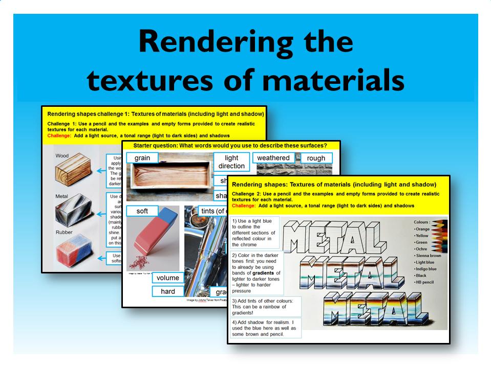 10.Graphic Design Render material texture