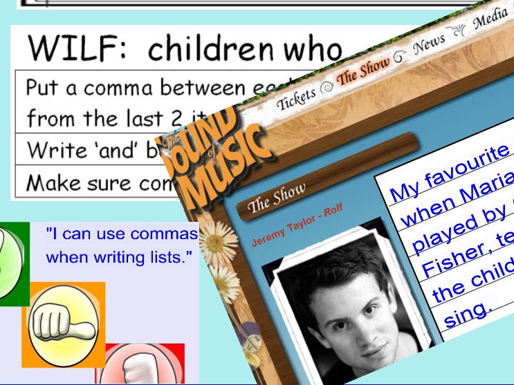 How to use commas in sentences.    Detailed lesson plan and interactive smart notebook programme
