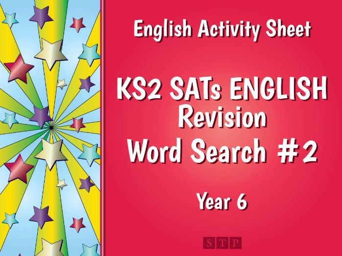SPaG Revision KS2 SATs Word Search 2