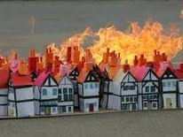 The Great Fire of London- Cross Curricular map