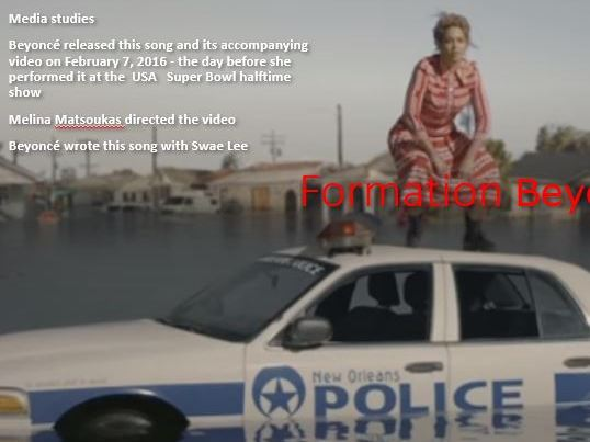 Beyonce Formation Music Video Analysis