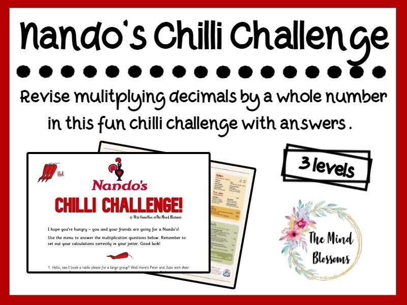 Nando's Chilli Challenge