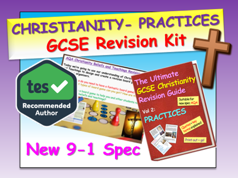 Christianity GCSE Revision - Practices