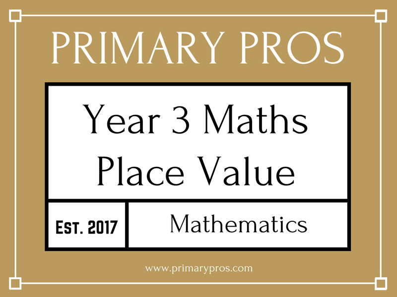 Year 3 Maths - Place Value