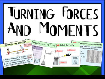 Turning Forces and Moments (Pivot, Load and Effort)