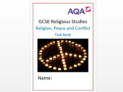 AQA RS Philosophy and Ethics: Religion, Peace and Conflict Task Book