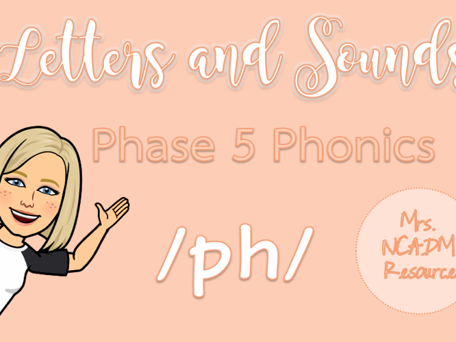 Phase 5a Phonics /ph/ resource pack (Letters & Sounds)