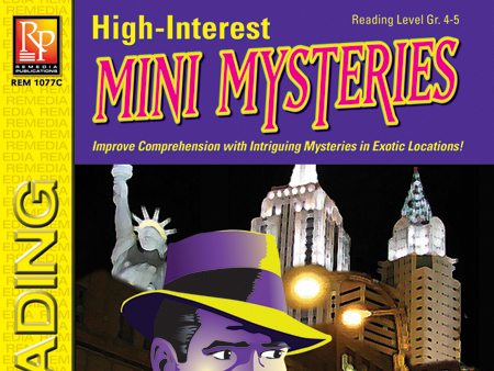 Mystery Unit: High-Interest Mysteries for Reading Level 4
