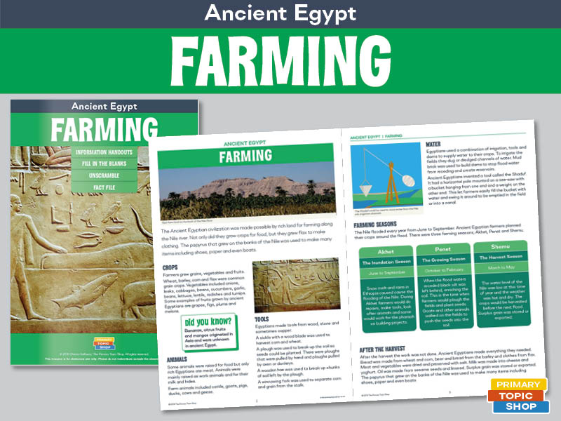 Ancient Egypt - Farming