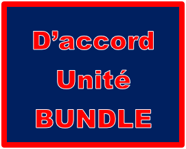D'accord 2 Unité 6 Bundle