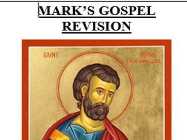 AQA St Mark's Gospel