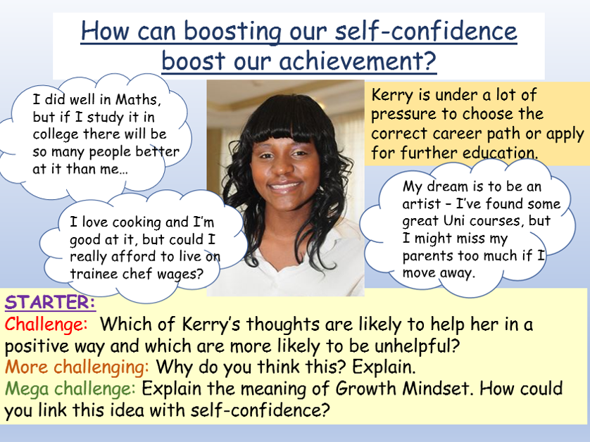 Self Confidence + Achieving Goals