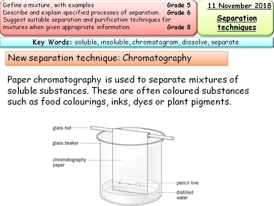 New AQA GCSE Chemistry Separate/Trilogy - Mixtures & separating mixtures x3 full lessons