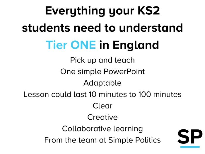Tier One restrictions for KS2