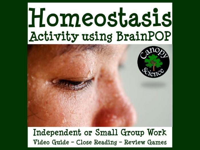 Homeostasis Activity using BrainPOP