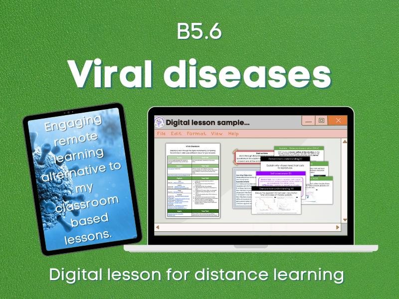 Viral diseases Distance learning (B5.6)