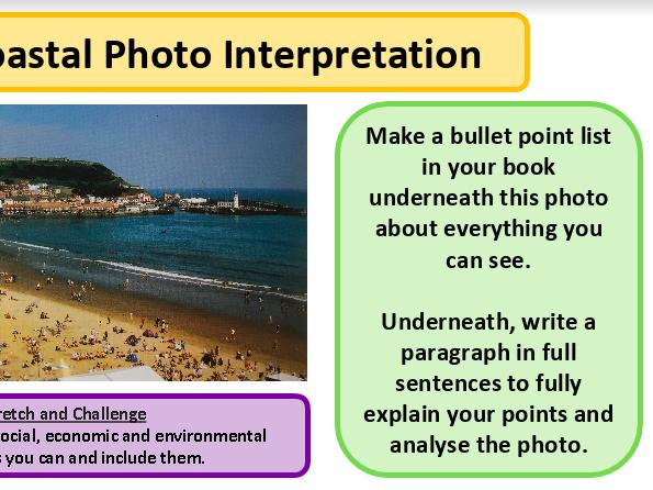 Interpreting maps and photos (2) - map  skills - KS3 Geography