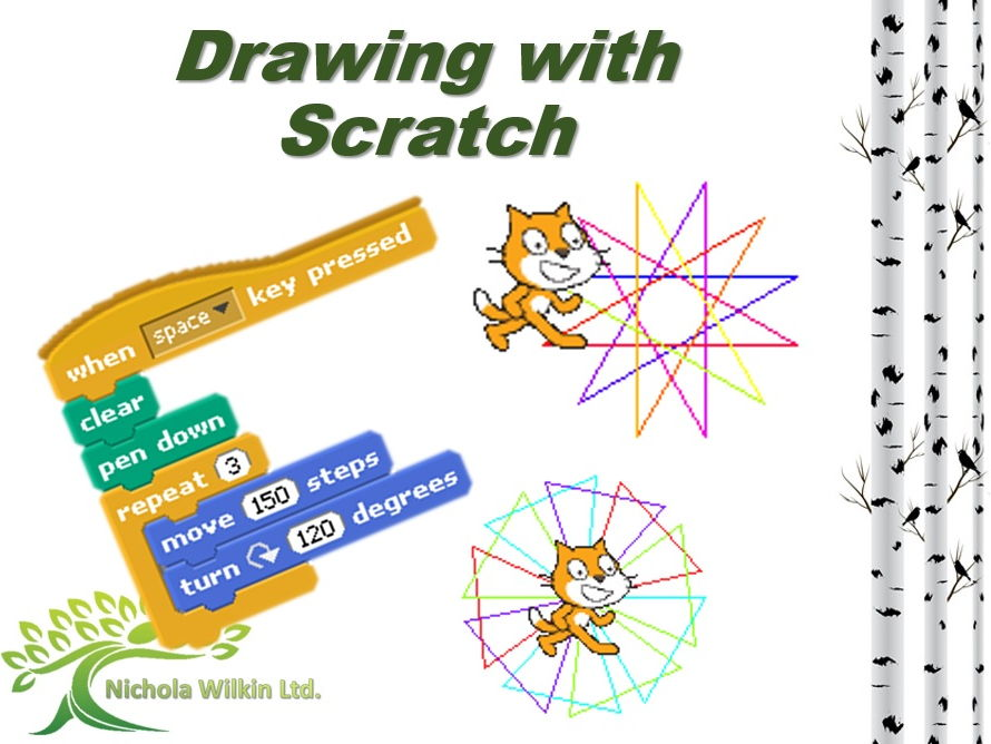 KS2 and KS3 Computing: Drawing with Scratch
