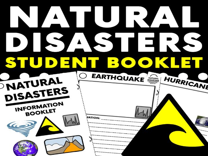 Natural Disasters Student Booklet