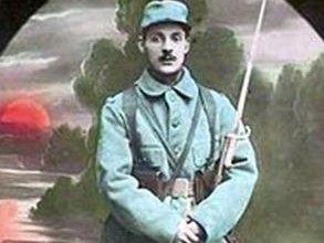 le 11 novembre- Armistice day - the Poppy  and le Bleuet