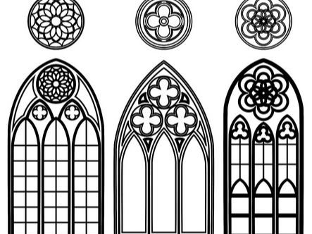 Gothic Architecture Windows