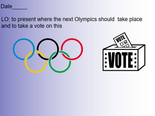 Where should the next Olympics be?