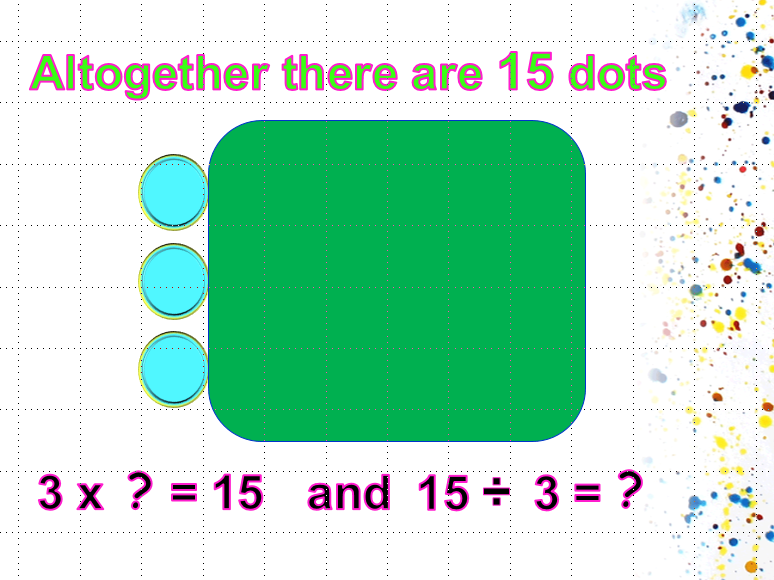 Division Array PowerPoint - Think Multiplication Strategy